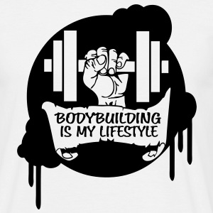 Bodybuilding is my Lifestyle Drips Direct T-Shirts - Men's T-Shirt