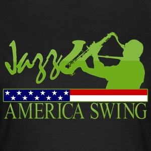 jazz america swing T-Shirts - Women's T-Shirt