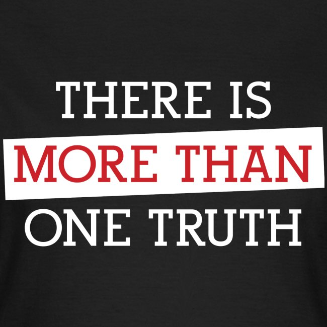 More Than One Truth