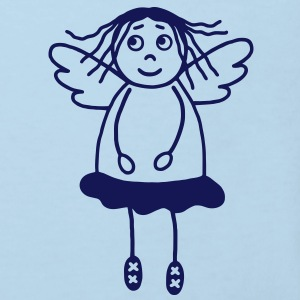 Guardian angel girl Shirts - Kids' Organic T-shirt