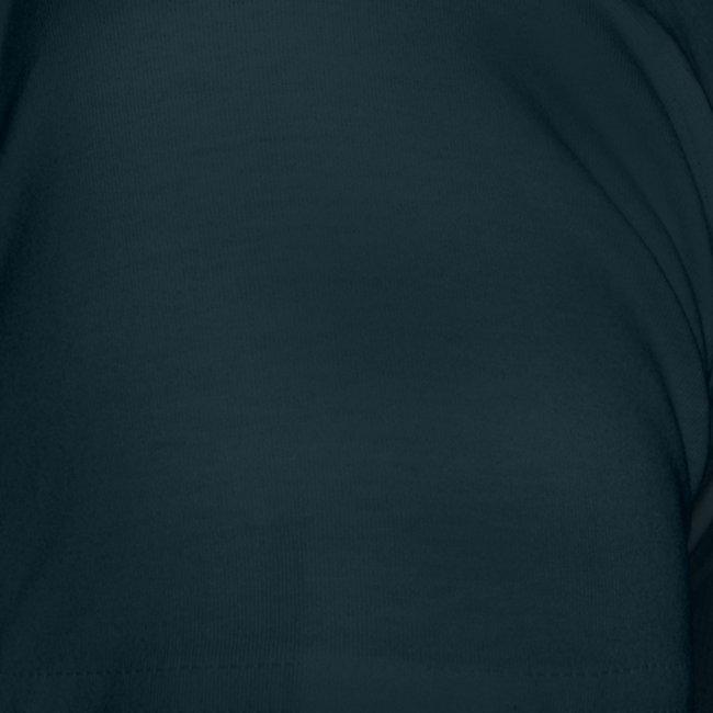 """Frauen T-Shirt - Logo vorne - Text hinten """"Who the fuck is Pande?"""" mit QR-Code"""