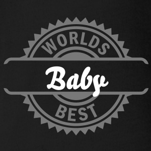 worlds best (1c) Baby Shirts  - Organic Short-sleeved Baby Bodysuit