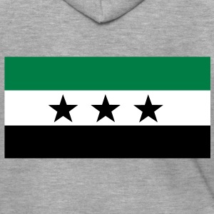 Free Syria Flag Hoodies & Sweatshirts - Men's Premium Hooded Jacket