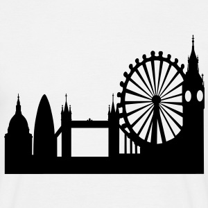 London Skyline T-Shirts - Men's T-Shirt