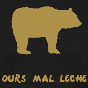 Ours mal léché - T-shirt Homme