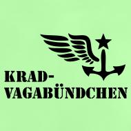 Motiv ~ KRAD-VAGABÜNDCHEN - Baby-T-Shirt