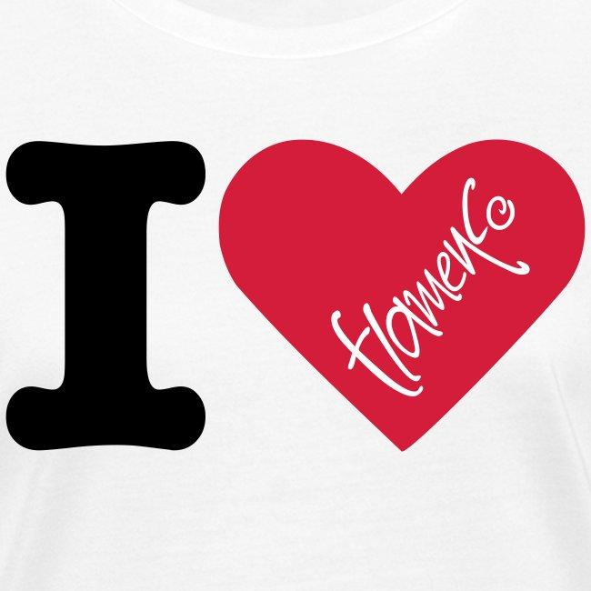 "T-shirt femme ""Flamenco te quiero"""