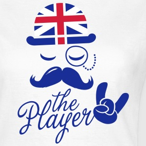 Funny England Gentleman championship player football | sports sporting moustache t-shirts T-Shirts - Women's T-Shirt