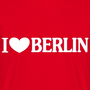 I love Berlin T-shirts - Herre-T-shirt