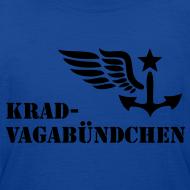 Motiv ~ KRAD-VAGABÜNDCHEN - Kinder-T-Shrit (Aufdruck schwarz)