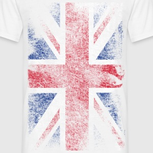 union jack - used look T-shirts - T-shirt herr