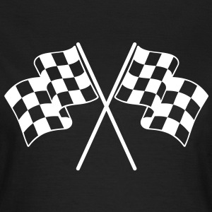 Checkered Flags T-Shirts - Women's T-Shirt