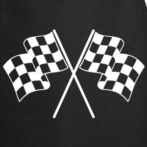 Checkered Flags  Aprons - Cooking Apron