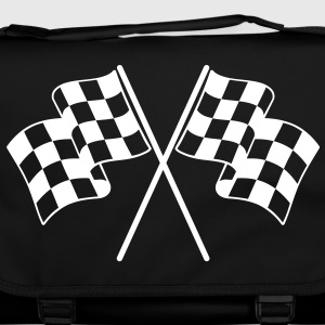 Checkered Flags Bags  - Shoulder Bag