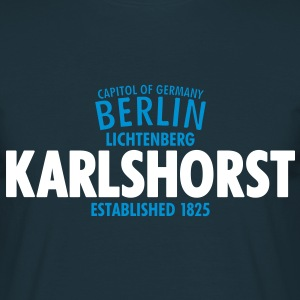 Capitol Of Germany Berlin - Karlshorst - Männer T-Shirt