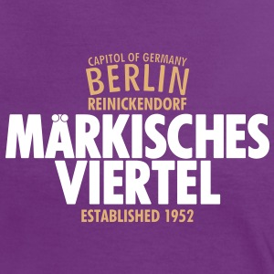Capitol Of Germany Berlin - Märkisches Viertel - Frauen Kontrast-T-Shirt