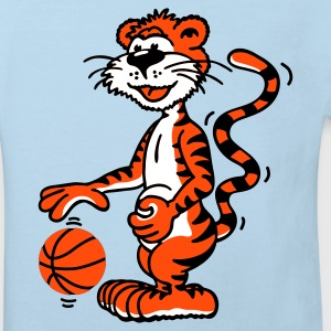 Shirt Basketballtiger - Kinder Bio-T-Shirt