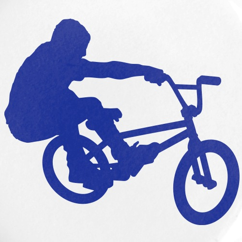 BMX Rider (Bunny Hop) (Vector)