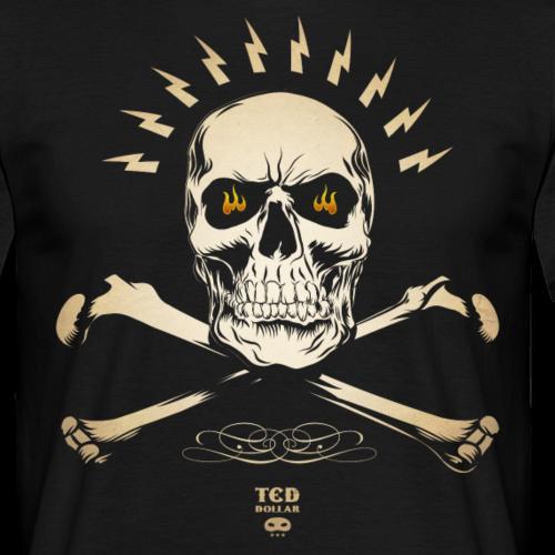 vintage Ted's Skull