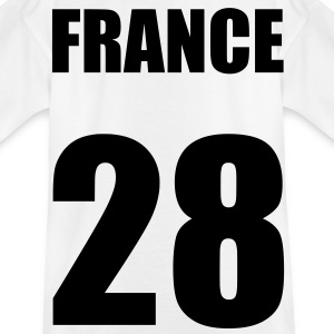 france 28 Camisetas - Camiseta adolescente