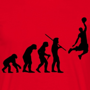 Basketball Evolution T-Shirt - Männer T-Shirt