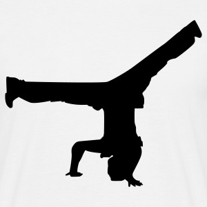 Breakdance 07 - Mannen T-shirt