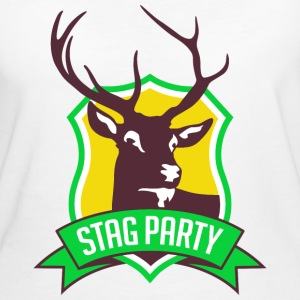 Stag Party 3 (dd)++ T-shirts - Organic damer