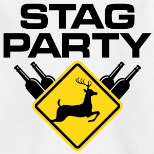 Stag Party 2 (2c)++ Barneskjorter - T-skjorte for barn