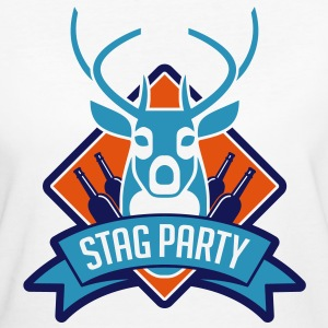 Stag Party 1 (3c)++ T-shirts - Organic damer