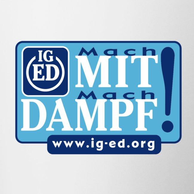IG-ED Dampftasse