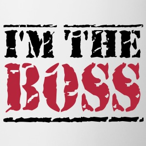 I'm the Boss Kopper og flasker - Kopp