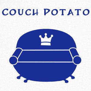 Couch Potato T-Shirts - Men's V-Neck T-Shirt