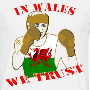 National Boxing in Wales we trust classic tee shirt - Men's T-Shirt