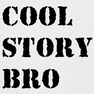 Cool story bro T-Shirts - Men's Baseball T-Shirt