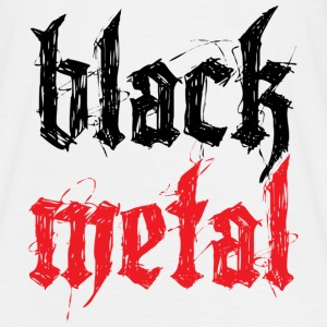 Black Metal T-shirts - Mannen T-shirt
