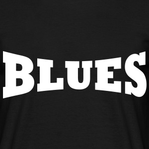 Sort Blues logo T-shirts - Herre-T-shirt