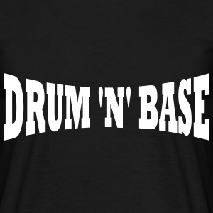 Drum n Base T-Shirt - Männer T-Shirt