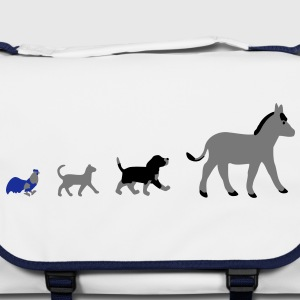 Dog, cat, cock, donkey Bags  - Shoulder Bag