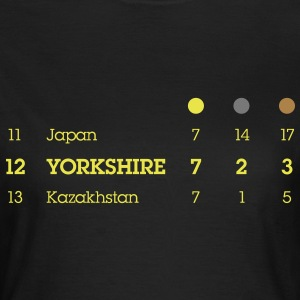 Yorkshire Olympic Medal Table - Women's T-Shirt