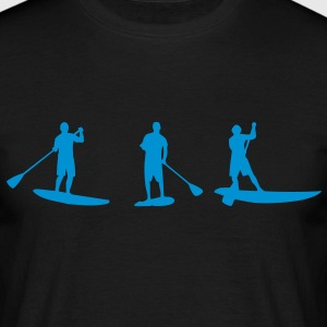 Sup, standing paddling, surfing, surfing, Supen, Stand up paddle surfing T-shirts - Men's T-Shirt