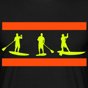 Sup, stående paddling, surfing, surfa, Supen, Stand Up Paddle surfing T-shirts - T-shirt herr