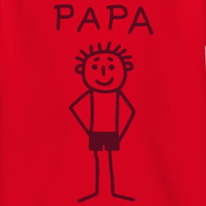 PAPA - stick figure Shirts - Kids' T-Shirt