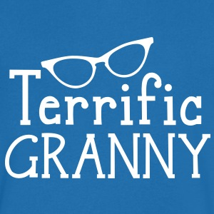 terrific granny! T-Shirts - Men's V-Neck T-Shirt