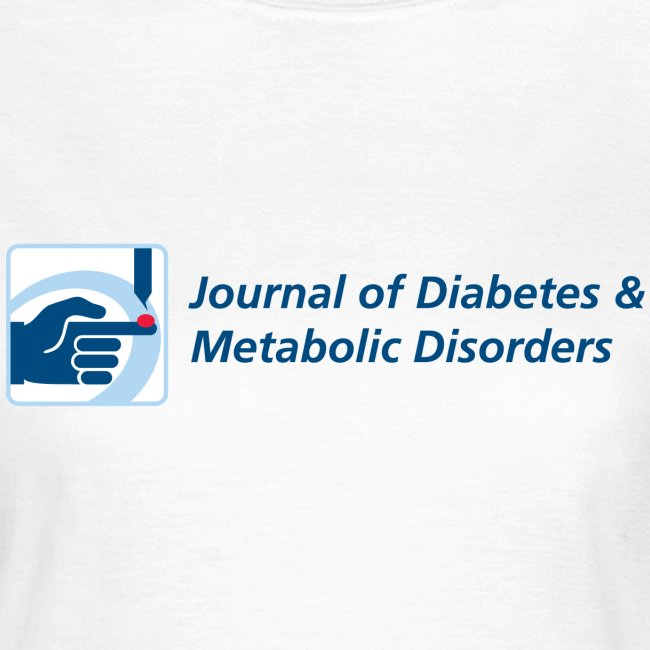 Journal of Diabetes & Metabolic Disorders women's t-shirt