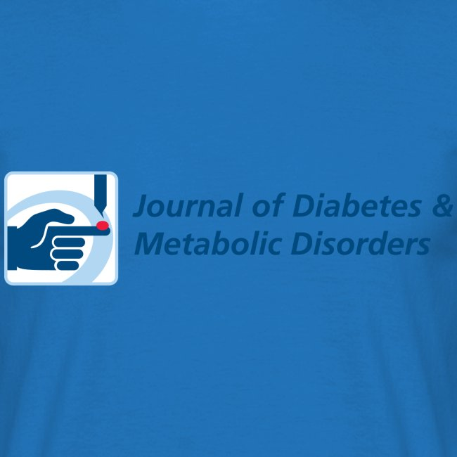 Journal of Diabetes & Metabolic Disorders men's t-shirt