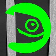 Design ~ Women's Hoodie Green Badge