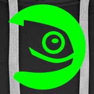 Design ~ Men's Hoodie Green Badge