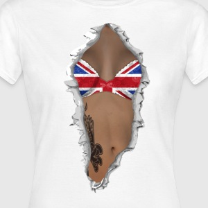 sexy flag UK T-Shirts - Frauen T-Shirt