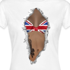 sexy flag UK T-Shirts - Women's T-Shirt