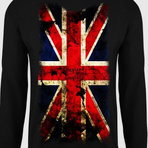 union_jack_down Hoodies & Sweatshirts - Men's Sweatshirt